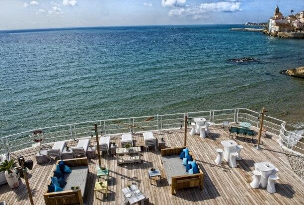 beach vivero beach sitges