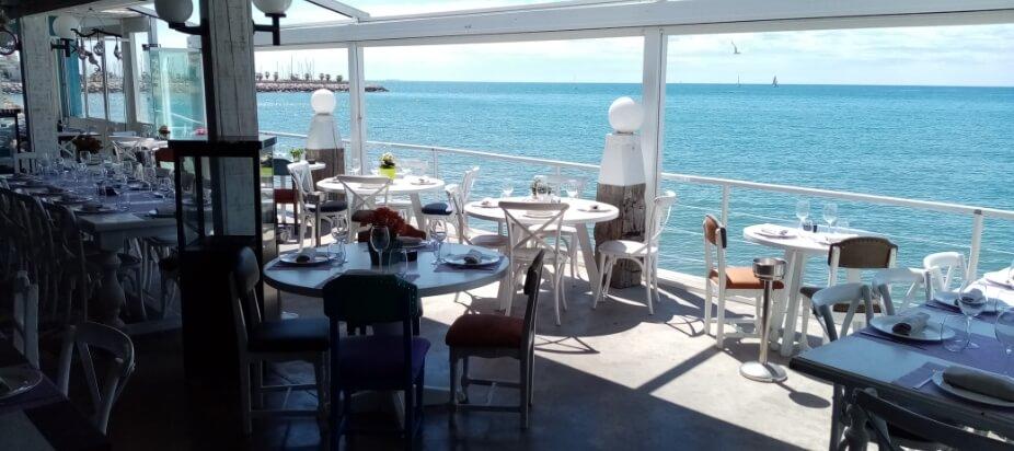 restaurante vivero beach sitges